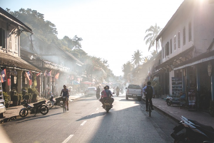 A street in Luang Prabang/ Image by Annika Hering from Pixabay