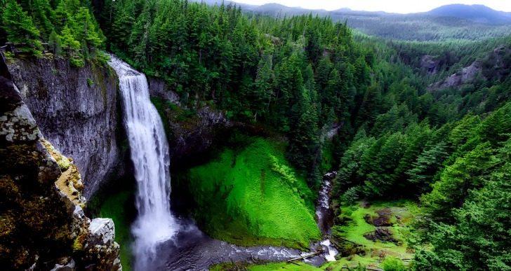 Traveling, Oregon, Hiking, Abiqua Falls
