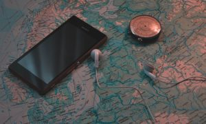 Traveling, GPS, Apps, Trip, Road