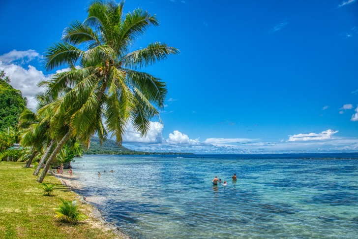 A beach in Tahiti/ Image by Thierry BEUVE from Pixabay