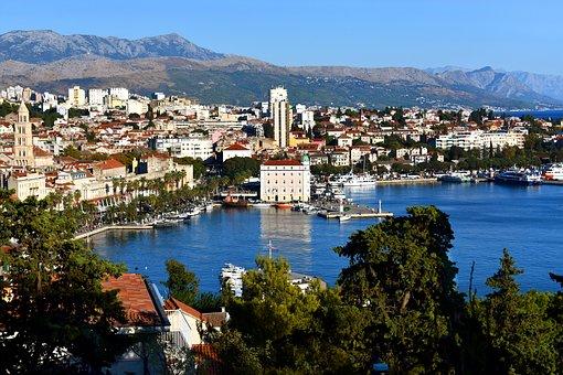 Traveling, Croatia, Split