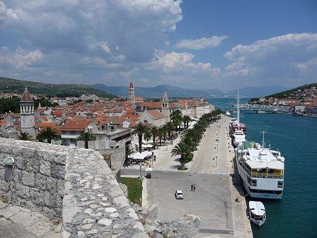 Traveling, Croatia, Trogir