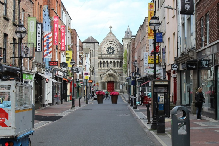 Dublin/ Image by Ronan Darby from Pixabay