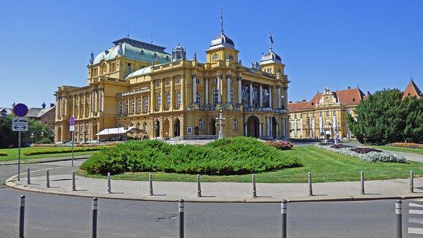 Traveling, Croatia, Zagreb